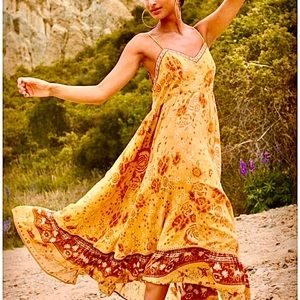 NWT Spell & The Gypsy Mystic Strappy Maxi Dress